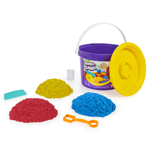 Spin Master Kinetic Sand Secchiello con accessori