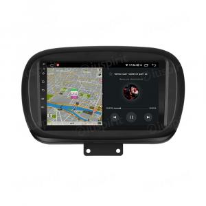 ANDROID autoradio navigatore per Fiat 500X 2014-2019 CarPlay Android Auto GPS USB WI-FI Bluetooth 4G LTE