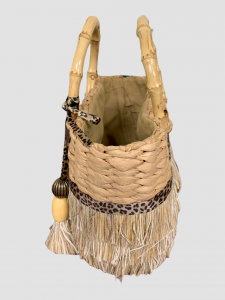 SHOPPING ON LINE PHO FIRENZE MINI BORSA IN PAGLIA CON MANICI IN BAMBU IN PAGLIA CON APPLICAZIONI REALIZZATE A MANO NEW COLLECTION WOMEN'S SPRING SUMMER 2021