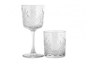 Servizio 12 pezzi bicchieri in vetro Timeless