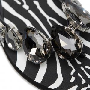 Ciabattina Animalier Zebra - L.A.WATER