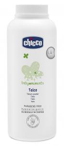 CHICCO BABY MOMENTS TALCO CON AMIDO DI RISO 150GR - PER BAMBINI DA 0 MESI+
