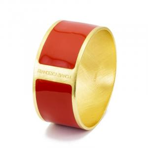 Bracciale bordeaux e oro Francesca Bianchi Design