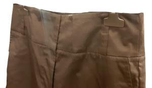 Pantalone donna| cotone stretch | nero | gamba larga | Made in Italy