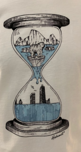 SHOPPING ON LINE HIDEOUT T-SHIRT CLIMATE CHANGE NEW COLLECTION SPRING/SUMMER 2021