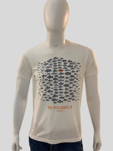 SHOPPING ON LINE HIDEOUT T-SHIRT BE YOURSELF NEW COLLECTION SPRING/SUMMER 2021