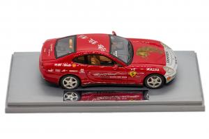 Ferrari 612 Scaglietti Tour Cina 2005 Red - 1/43 BBR Gasoline