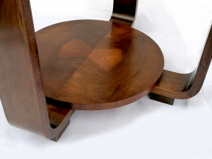 Tavolino da salotto in stile decò