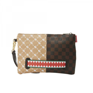 Sprayground Pochette Decoro Bi color Unisex