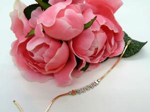 Bracciale Elements Rosè Donnaoro scritta MAMMA