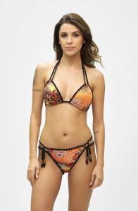 Bikini triangolo e slip regolabile Summer of Love Effek
