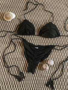 Bikini Triangolo e slip laccetto brasiliano regolabile Mantra Effek