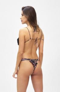 Bikini Triangolo e slip fusciacca regolabile Summer Of Love Effek