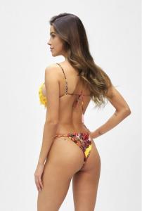 Bikini Triangolo  e slip brasiliano fusciacca Summer of Love Effek Tagli L e LG