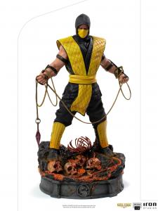 *PREORDER* Mortal Kombat Art Scale: SCORPION by Iron Studio