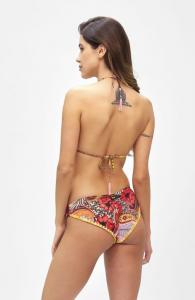 Bikini Triangolo e slip coulotte fisso Summer of Love Effek