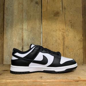 Scarpa Nike Dunk Low GS Bianca e Nera