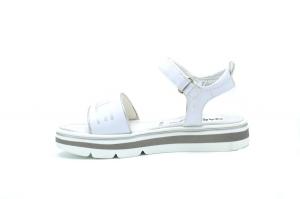Sandalo con logo