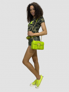 SHOPPING ON LINE NO SECERETS MILANO T-SHIRT CAMOUFLAGE CON ANGIOLETTI  NEW COLLECTION WOMEN'S SPRING SUMMER 2021