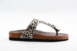 NOVITA' P/E 2021 Woz Calzatura Donna-Cav.Leopardo Bianco/Nero 2013BIRKY