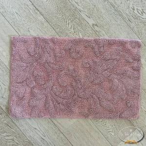 Tappeto rilievo rosa antico