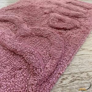 Tappeto Bath rosa