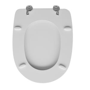 SEDILE WC PER AZZURRA VASO AFRODITE                                    Bianco