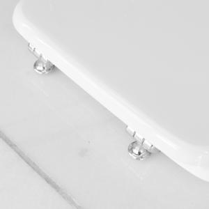 Sedile Wc Per Dolomite Vaso Clodia Bianco Dg Idrotermica D G Idrotermica Sas