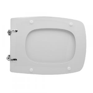 SEDILE WC PER DOLOMITE VASO QT 70                                      Bianco - Cerniere C espansione
