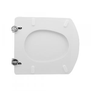 SEDILE WC PER ROCA VASO HALL                                           Bianco - Cerniere C espansione