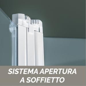 PORTA A LIBRO CRISTALLO 6 MM CEE ART                                   cm 72-76  / Apertura cm 44