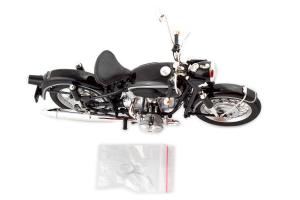 Bmw R69S Black Motorbike - 1/10 Schuco