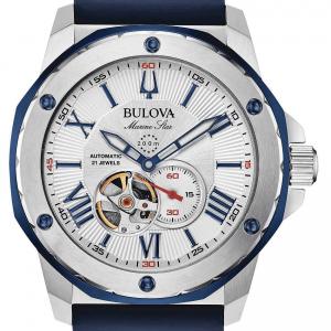 Bulova Orologio Marine Star, Automatico - Silver