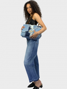 SHOPPING ON LINE PINKO TOP CANOTTA EFFETTO PELLE IMPURO NEW  COLLECTION  WOMEN'S  SPRING  SUMMER 2021