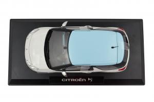 Citroen DS3 White Light Blue Roof - 1/18 Norev