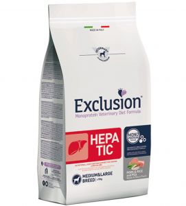 Exclusion - Veterinary Diet Canine - Hepatic - Medium/Large - 2kg