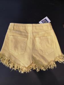 Shorts sfrangiato