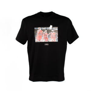 T-Shirt Trowback History Nera