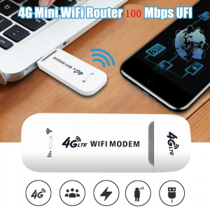 SSI Dongle USB SIM Modem 3G/4G LTE Modem Wi-Fi per autoradio aftermarket Android, telefoni, PC, tablet