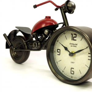 Orologio motocicletta rossa di Mascagni