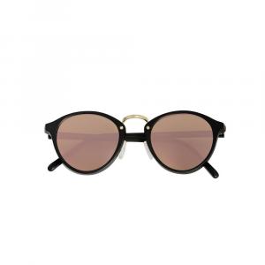 Occhiali da sole specchio rosè collezione Audacia Flat ad alta protezione