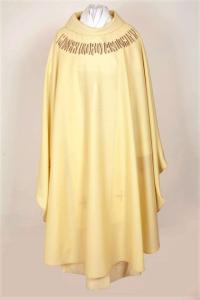 Casula CSER Misericordias Domini  - fresco lana bianco