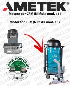 CFM 137 MOTORE AMETEK di aspirazione per lavapavimenti CFM