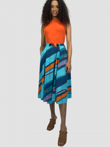 SHOPPING ON LINE RRD ROBERTO RICCI DESIGNS LONG SKIRT ULTRA STRETCH NEW  COLLECTION  WOMEN'S  SPRING  SUMMER 2021
