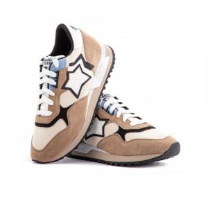 Atlantic Stars Sneakers Sportiva Marrone Tostato da Uomo
