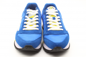 SUN68 Sneakers Uomo Niki Solid Royal