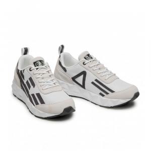 Emporio Armani Sneakers Sportiva Run Bianca con Logo da Uomo