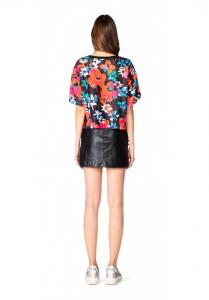 T-shirt donna floreale