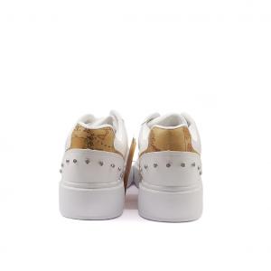 Sneaker bianca/geo 1a Classe by Alviero Martini