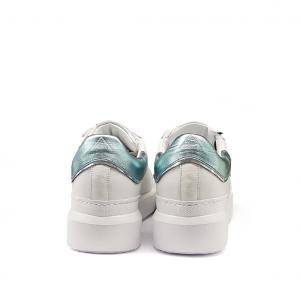 Sneaker bianca/menta Ed Parrish